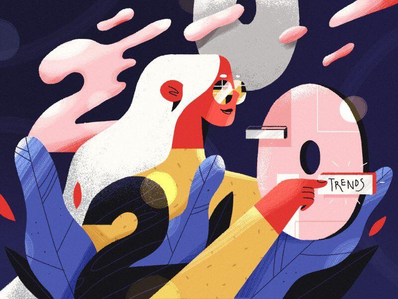 Illustration by Julia Hanke for Fireart Studio