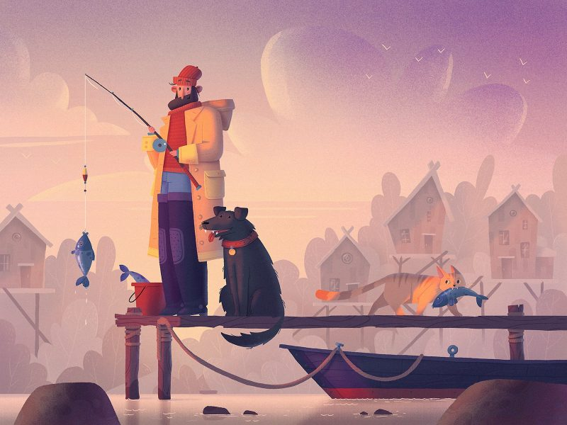 Illustration by Dmitry Kazak